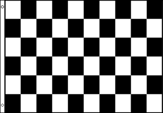 checker sand rail flag