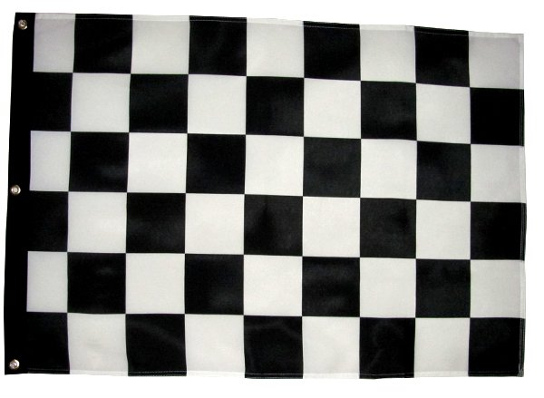 Racing Checker sand rail flag