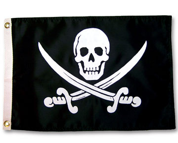 pirate atv flag