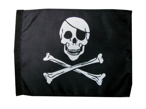 Jolly Roger ATV Flag