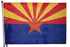 Arizona Bicycle Flag