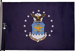 Air Force Bicycle Flag
