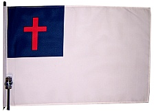 Christian Bike Flag