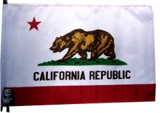 California Bike Flag