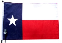 Texas Bike Flag